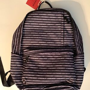 NEW Target Mossimo Large Striped Backpack